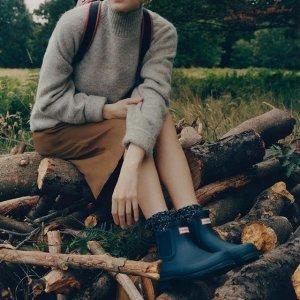 低至5折+额外9折Hunter 英伦雨具品牌 英国皇室最爱的雨靴