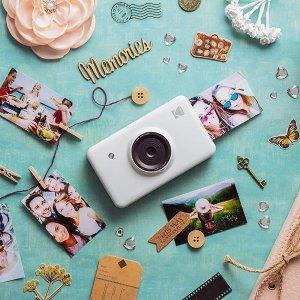 轻松记录欢乐瞬间,现价£87.03(原价£109.99)Kodak Mini Shot 拍立得特卖,照片打印机 二合一