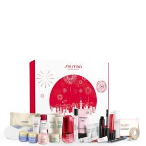 仅€124到手 红腰子套装仅€108收!Shiseido/资生堂 圣诞日历来袭!总价值超€390 还有红腰子圣诞套装!