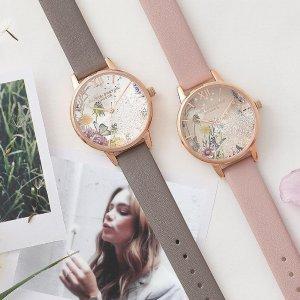 满额最高7折 送礼好选择Olivia Burton INS少女风品牌手表热卖中