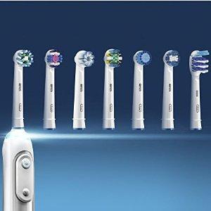 5折起+订购更省 £8收4支精密刷头Oral-B 多款电动牙刷替换刷头热卖 新的一年牙齿更健康