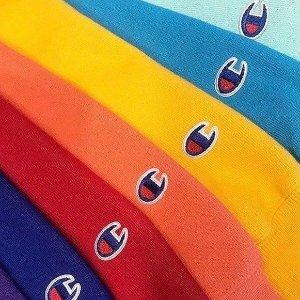 低至6折 £12收运动T恤Champion专场上新热卖 外套、卫衣、羽绒服全都有