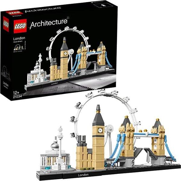Architecture London天际线 21034, Skyline Collection, Building Bricks