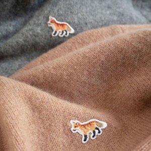 2折起 $99收条纹毛衣折扣升级:Maison Kitsune 小狐狸超强折扣上线 激萌可爱点亮冬季穿搭