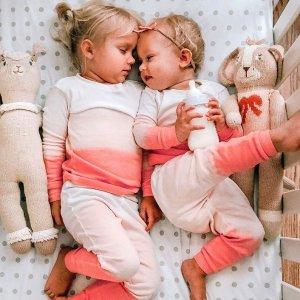 低至$10 新推出宽松款睡衣新品上市:Burt's Bees Baby 婴幼童有机棉睡衣特卖