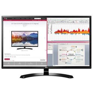 $129.99LG 32吋 MA70HY-P 全高清 IPS 多分屏家用显示器