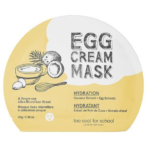 Egg Cream Mask Hydration - Too Cool For School