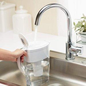 $19.77(原价$21.97)Brita Space Saver 六杯量滤水壶 每日喝健康清新好水