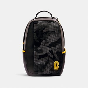 CoachEdge Backpack With Camo Print