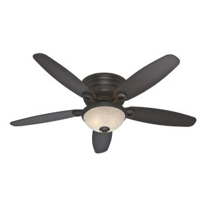 Hunter Large Room 52-in Indoor Ceiling Fan with Light