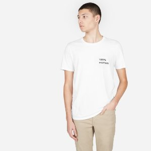 EverlaneThe 100% Human Unisex Crew in Small Print