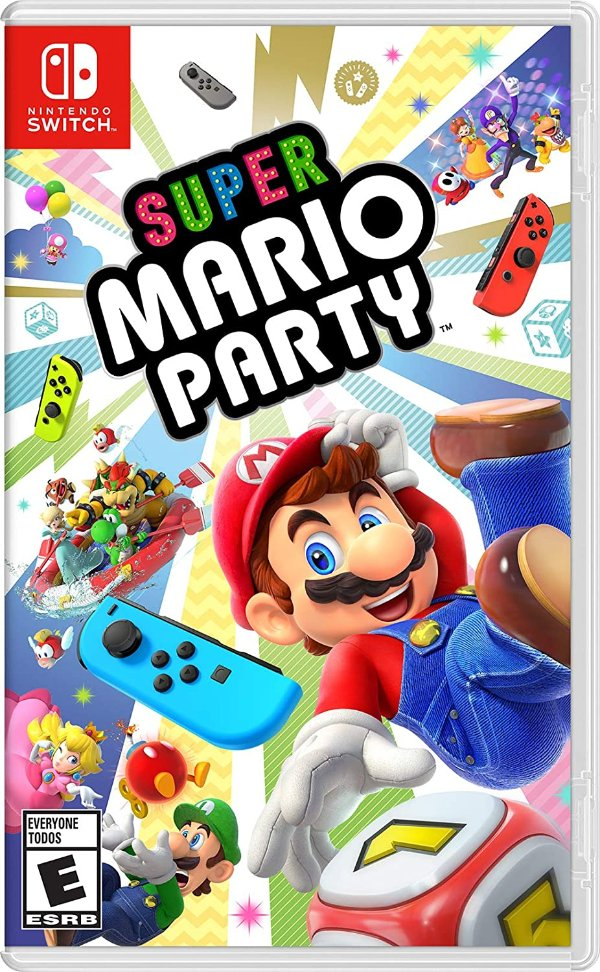 《超级马里奥派对》Nintendo Switch 实体版