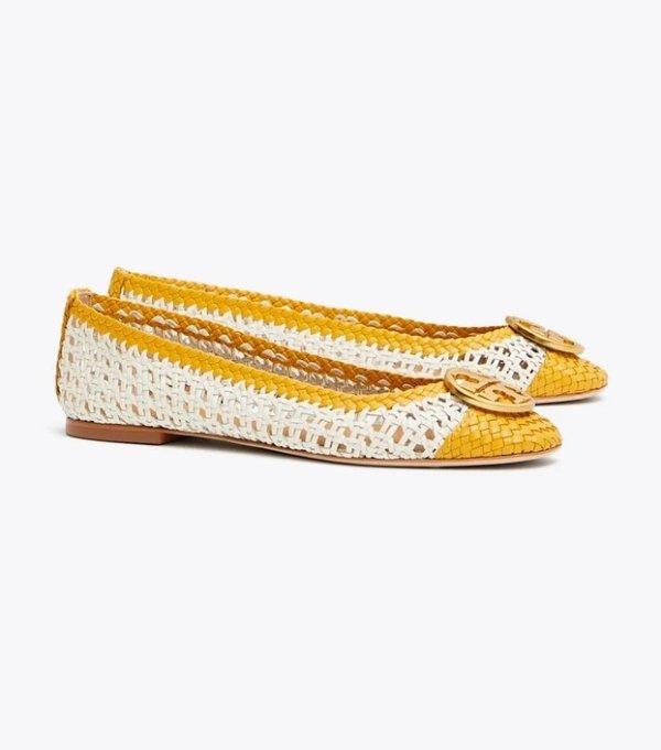 Chelsea 编织平底鞋