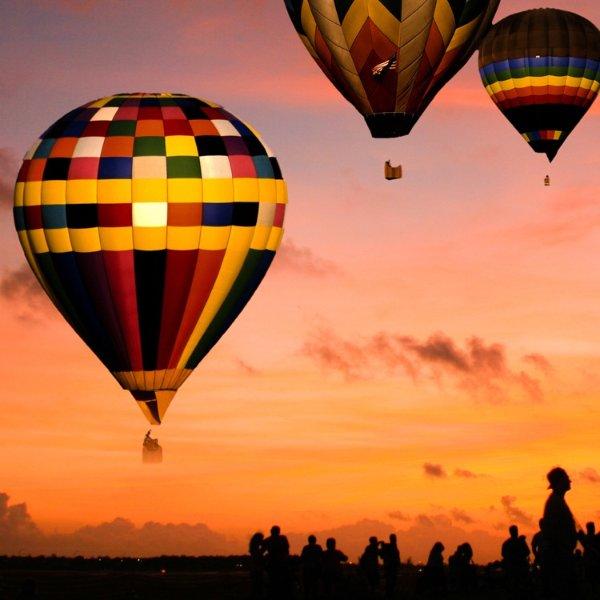 拉斯维加斯热气球之旅