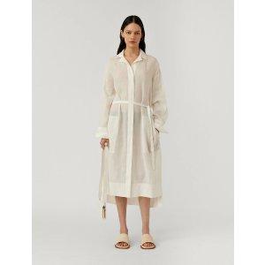 Joseph苎麻衬衫裙