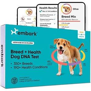 Embark狗DNA测试及健康筛查