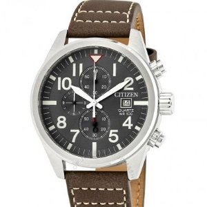 Extra $20 Off CITIZEN Chronograph Black Dial Men's Watch