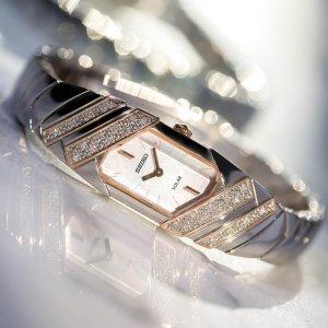 Last Day: $145Seiko Women's Tressia Watch SUP332
