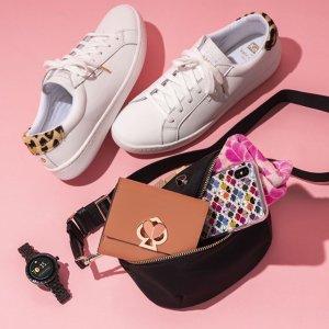 小白鞋¥327  仙女毛衣¥801  直邮中国Kate Spade 折扣区美包上新,桃心斜挎包仅¥1300