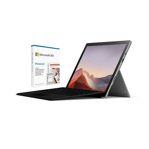 Surface Pro 7 (i5, 8GB, 128GB) + Type Cover + Microsoft 365 1年