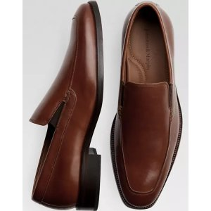 Johnston & MurphySanborn Tan Slip On - Men's Shoes | Men's Wearhouse