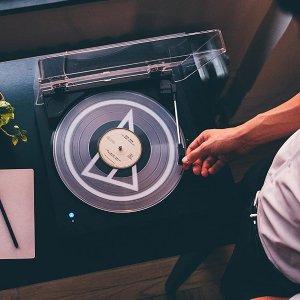 低至$138+包邮铁三角、Sony 黑胶唱片机专场 给枯燥的生活一丝文艺
