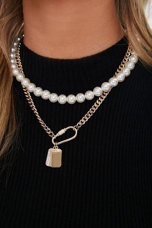 珍珠叠戴项链