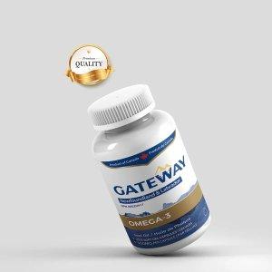 250粒Gateway海豹油omega-3
