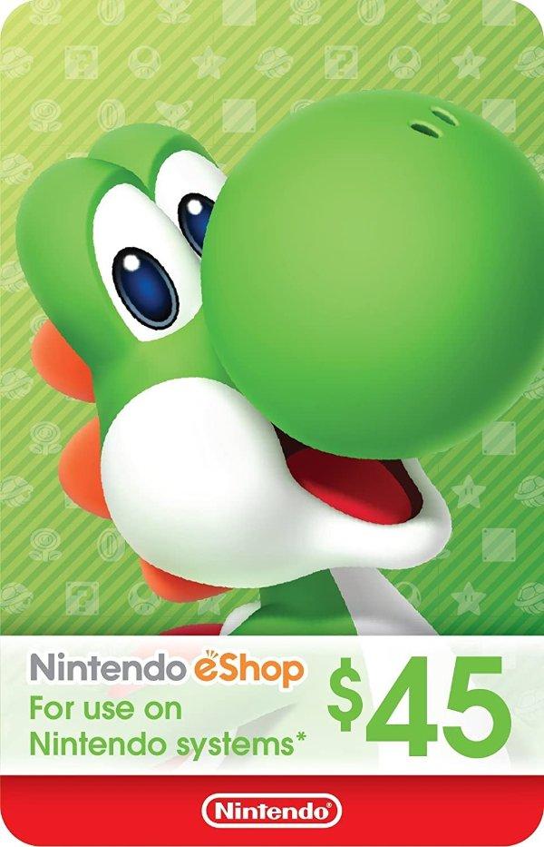 eShop $45 电子礼卡