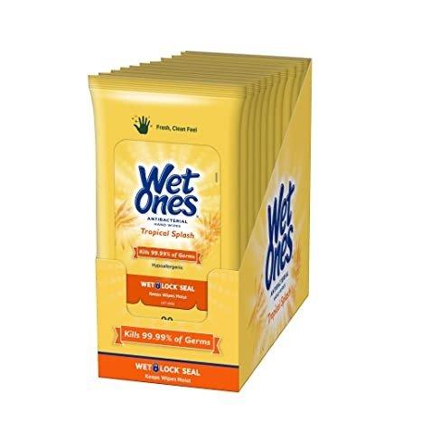 Wet Ones 抗菌湿巾 200张