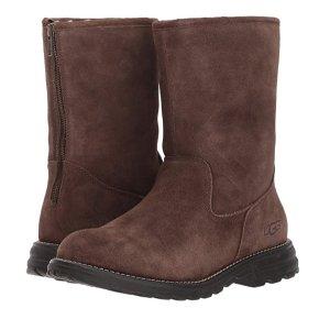现价$74.99(原价$189.97)UGG 女士冬靴巧克力色5码热卖