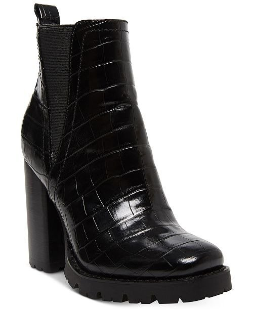 Ladon Lug-Sole粗跟靴