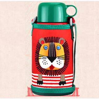 日本直邮¥232虎牌 儿童两用保温杯 600ml 附赠超萌狮子杯套