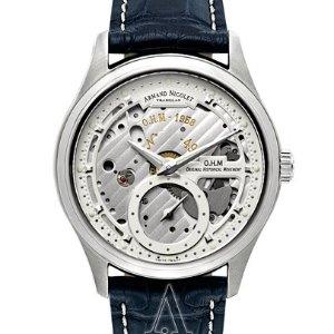 $1250ARMAND NICOLET Men's L14 Watch A750AAA-AG-P713BU2