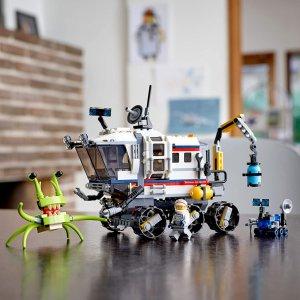 $39.86 (原价$49.99)史低价:Lego Creator3合1系列 太空探测车31107(共510粒)