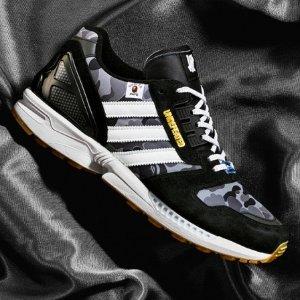 11月20日发售 定价€136.42预告:Adidas X Bape X Undefeated 三方联名鞋款 抽签已开启