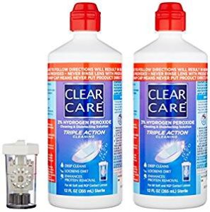 Alcon Clear Care with Lens Case, Twin pack