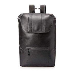 现价$53.60(原价$198)Calvin Klein 男士真皮双肩包