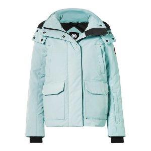 Canada Goose薄荷绿羽绒服