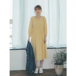 Uniqlo蛋黄长裙