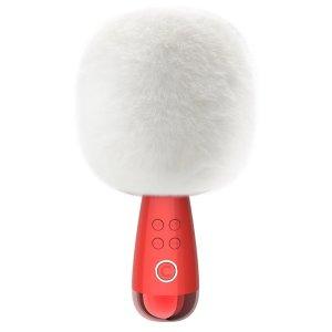 需使用折扣码:DM22小巨蛋无线麦克风G2 白色绒毛罩款