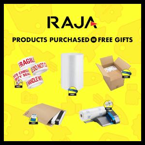 首单免邮!还送无线充电器!Rajapack 打包耗材 便宜种类多 寄行李、德境小包裹都OK