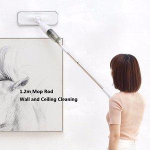 $36.99Deerma Water Spray Mop Sweeper + 4PCS Replace Mop Pads