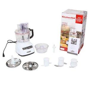 $59.99KitchenAid KFP0922WH White 9-Cup Food Processor