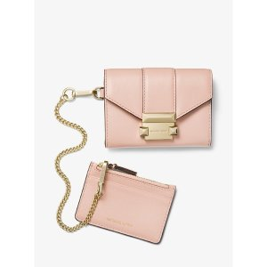 Michael KorsWhitney Small Leather Chain Wallet