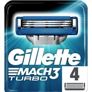 2 件只需 £15,相当于75折Gillette Mach3 3刀片替换刀头 4个装