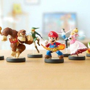 $15起 内置NFC与游戏角色联动Nintendo amiibo手办 Super Smash上新预购