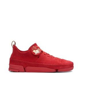 $79(原价$230)中国红限量款超值:Clarks 女款气质爆款三瓣鞋热卖