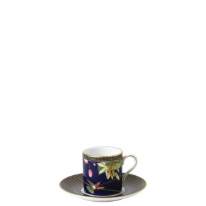 蜂鸟咖啡杯碟
