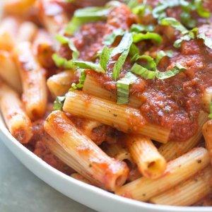 $10.54 上班族恩物Barilla 速食意大利面 配罗勒番茄酱 6盒
